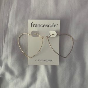 Francescas Heart Hoops!